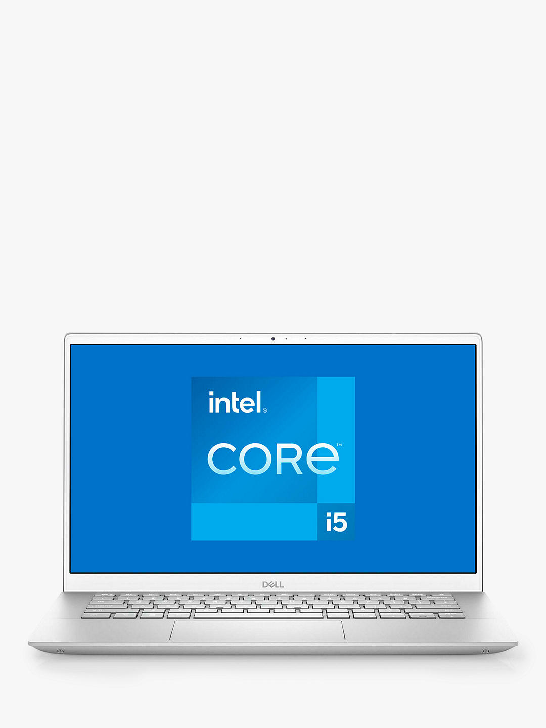 "Buy Dell Inspiron 14 5402 Laptop, Intel Core i5 Processor, 8GB RAM, 512GB SSD, 14"" Full HD, Silver Online at johnlewis.com"