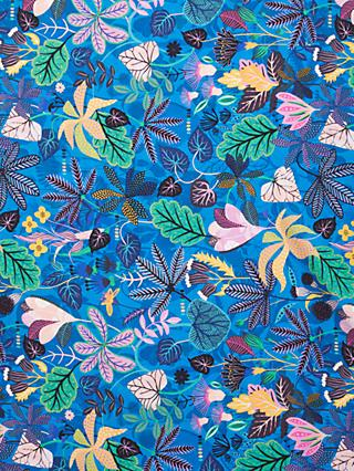Dashwood Studio Bright Leaves Print Fabric