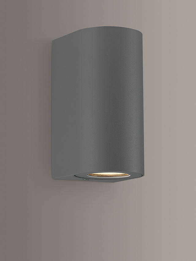 Buy Nordlux Canto Max 2.0 Indoor / Outdoor Wall Light, Grey Online at johnlewis.com