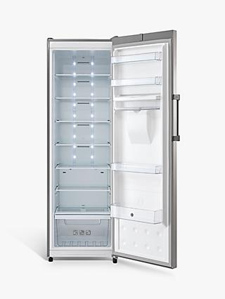 Hoover H-FRIDGE 500 HLS1862WDKM/N Freestanding Fridge, Stainless Steel