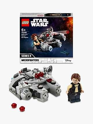"LEGO Star Wars 75295 Millennium Falconâ""¢ Microfighter"