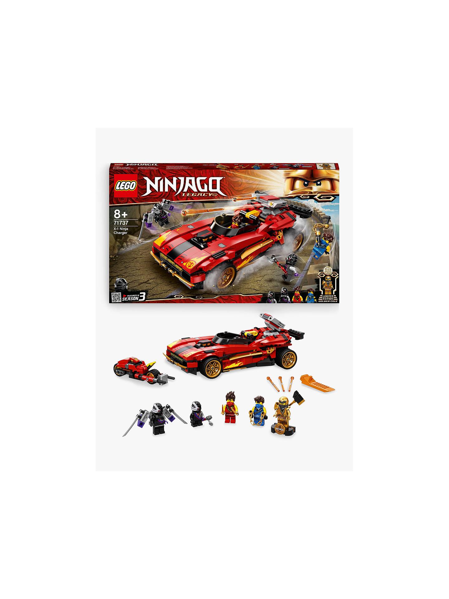 LEGO Ninjago 71737 X-1 Ninja Charger at John Lewis & Partners