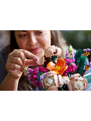 Buy LEGO Creator 10280 Flower Bouquet Online at johnlewis.com