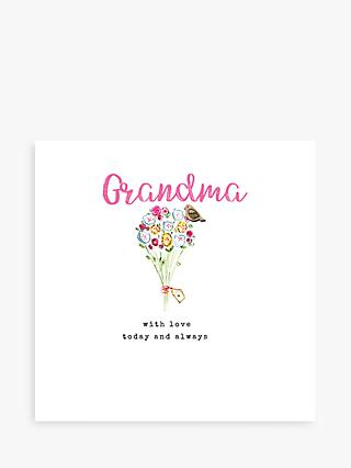 Laura Sherratt Designs With Love Grandma Mother's Day Card