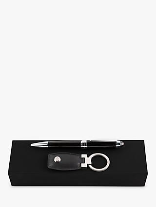 HUGO BOSS ICON Keyring & Ballpoint Pen Gift Set