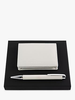 HUGO BOSS Storyline Card Holder & Ballpoint Pen Set