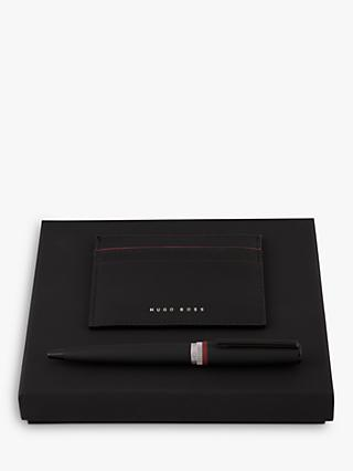 HUGO BOSS Set Gear Card Holder & Ballpoint Pen Set