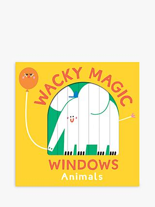Wacky Magic Windows Animals Children's Book