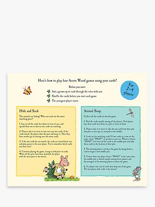 Tales From Acorn Wood Children's Book & Card Game