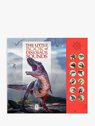The Little Book of Dinosaur Sounds Children's Interactive Sound Book