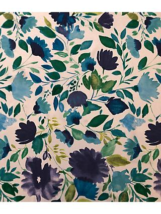 John Kaldor Hermione Floral Print Fabric, Turquoise