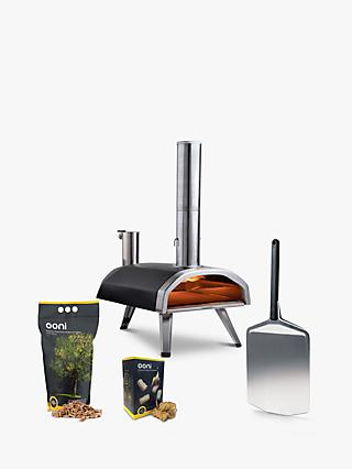Ooni Fyra 12 Portable Outdoor Pizza Oven, Pizza Peel, Pellets & Firestarters