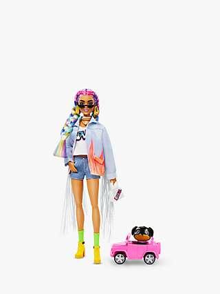 Barbie Extra Rainbow Braids Doll