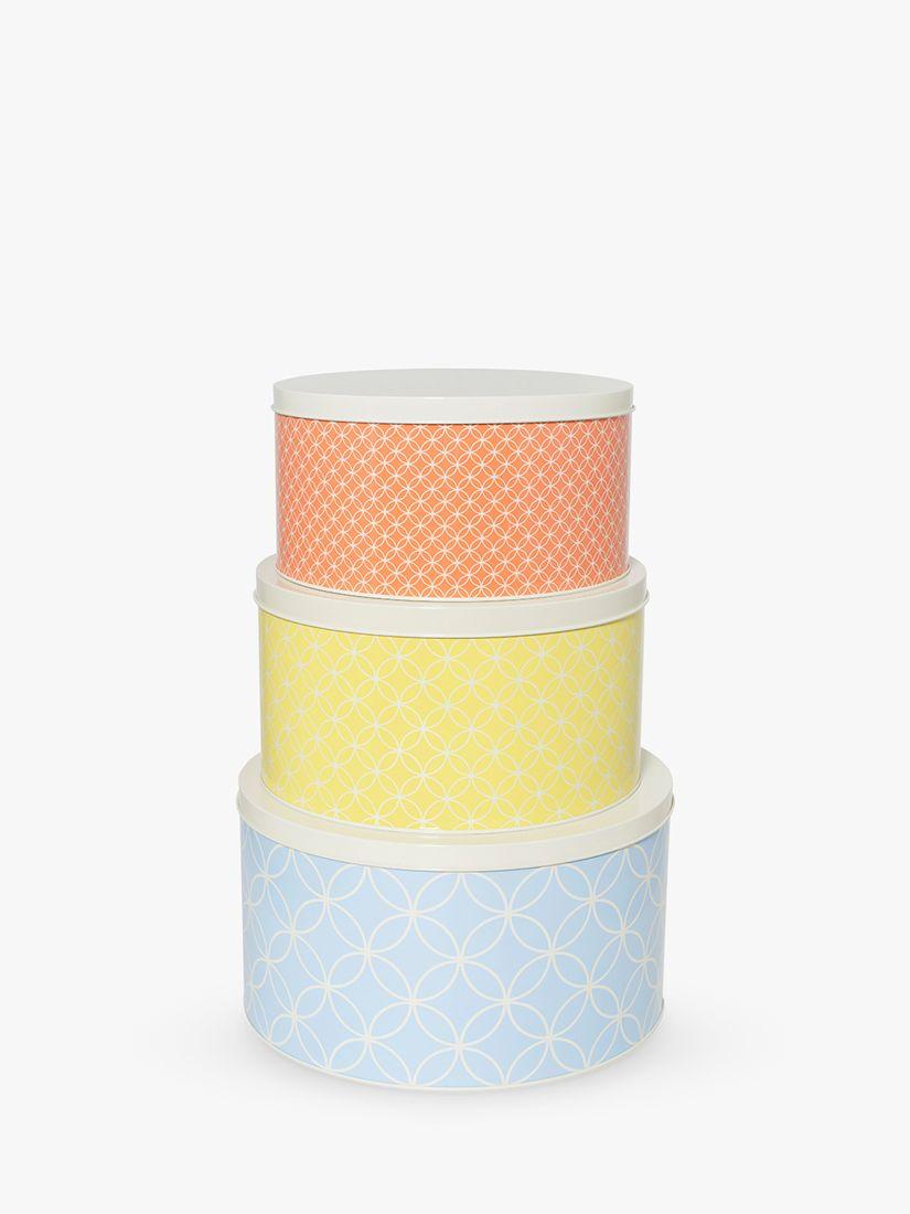 BlissHome Nadiya Hussain Cake Tins, Set of 3, Assorted