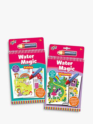 Galt Water Magic Fairies & Unicorns Children's Colouring Books Bundle