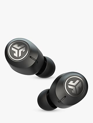 Jlab Audio JBuds Air ANC Noise Cancelling True Wireless Bluetooth In-Ear Headphones with Mic/Remote, Black