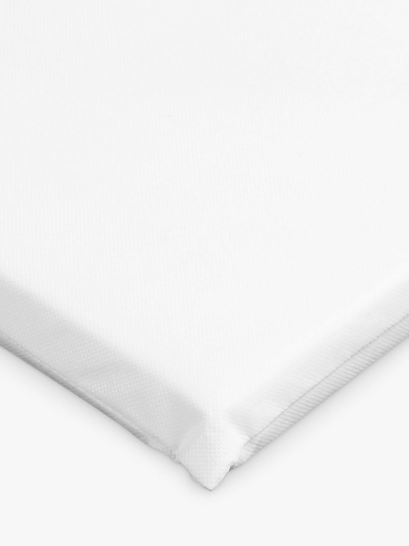 ANYDAY John Lewis & Partners Basic Fibre Crib Mattress, 89 x 38cm