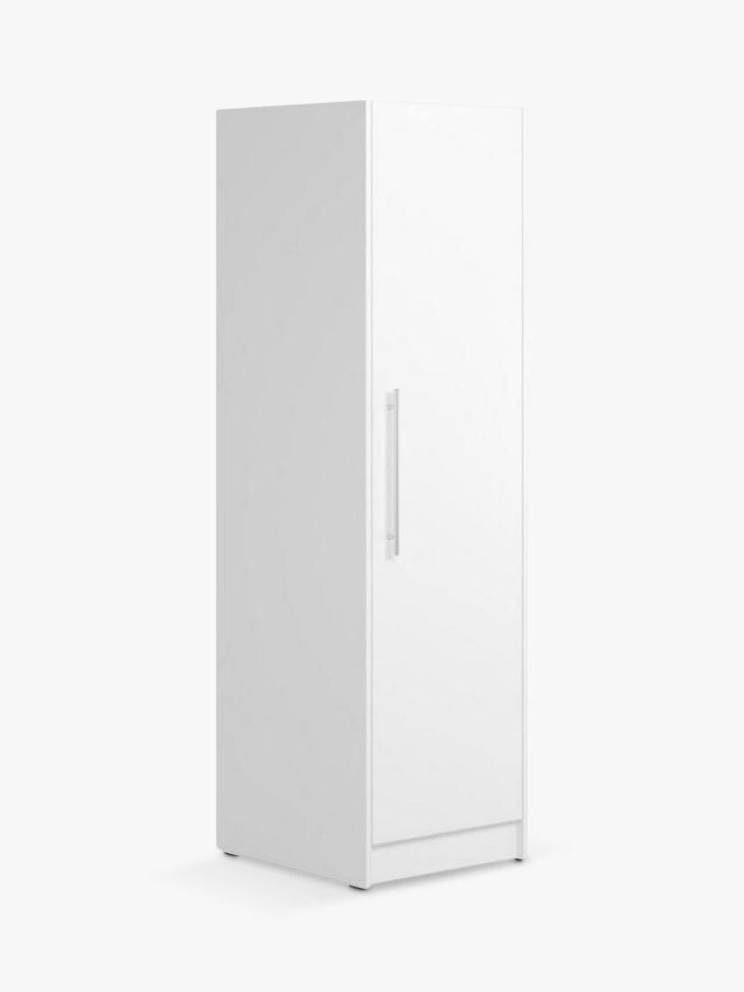 Little Acorns Athena Single Wardrobe, White