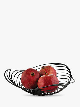 Buy Alessi Trinity Fruit Bowl, Black Online at johnlewis.com