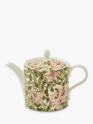 Morris & Co. Spode Honeysuckle Teapot, 1.1L, Multi