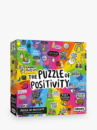 Gibsons Positivity Jigsaw Puzzle, 1000 Pieces