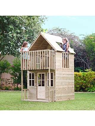 TP Toys Wooden Loft Playhouse