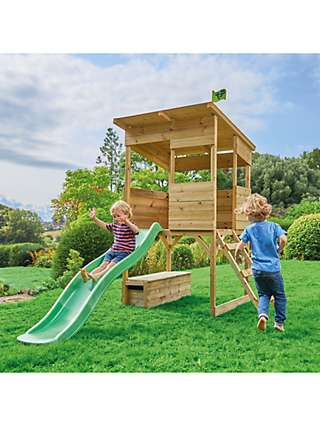 TP Toys Tree Tops Wooden Playhouse & Toy Box