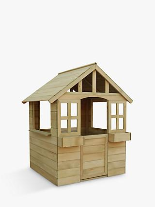 TP Toys Wooden Cubby Playhouse