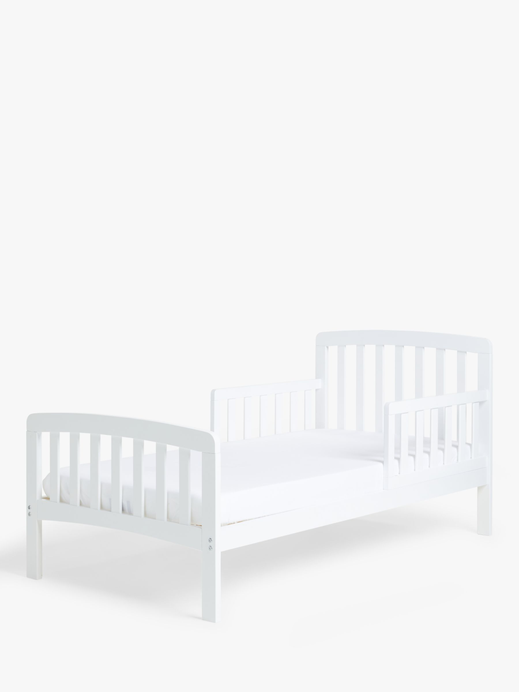 ANYDAY John Lewis & Partners Elementary Toddler Bed, White