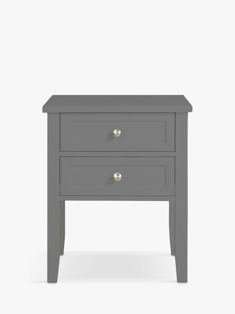 John Lewis & Partners St Ives 2 Drawer Bedside Table, FSC-Certified (Oak, Birch, Oak Veneer, MDF)