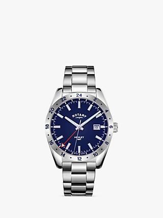 Rotary Men's Henley GMT Bracelet Strap Watch