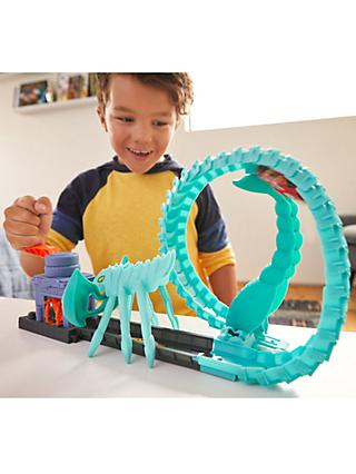Hot Wheels Toxic Scorpion Attack Playset