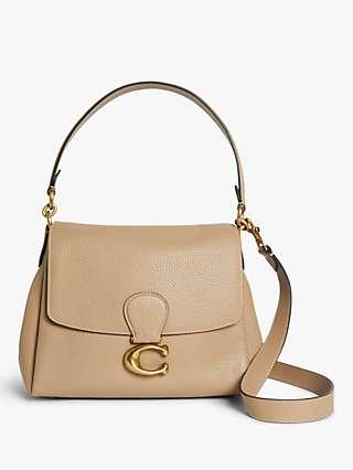 Coach May Leather Shoulder Bag