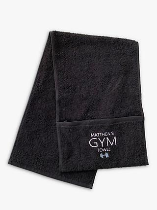 Solesmith Personalised Cotton Gym Towel