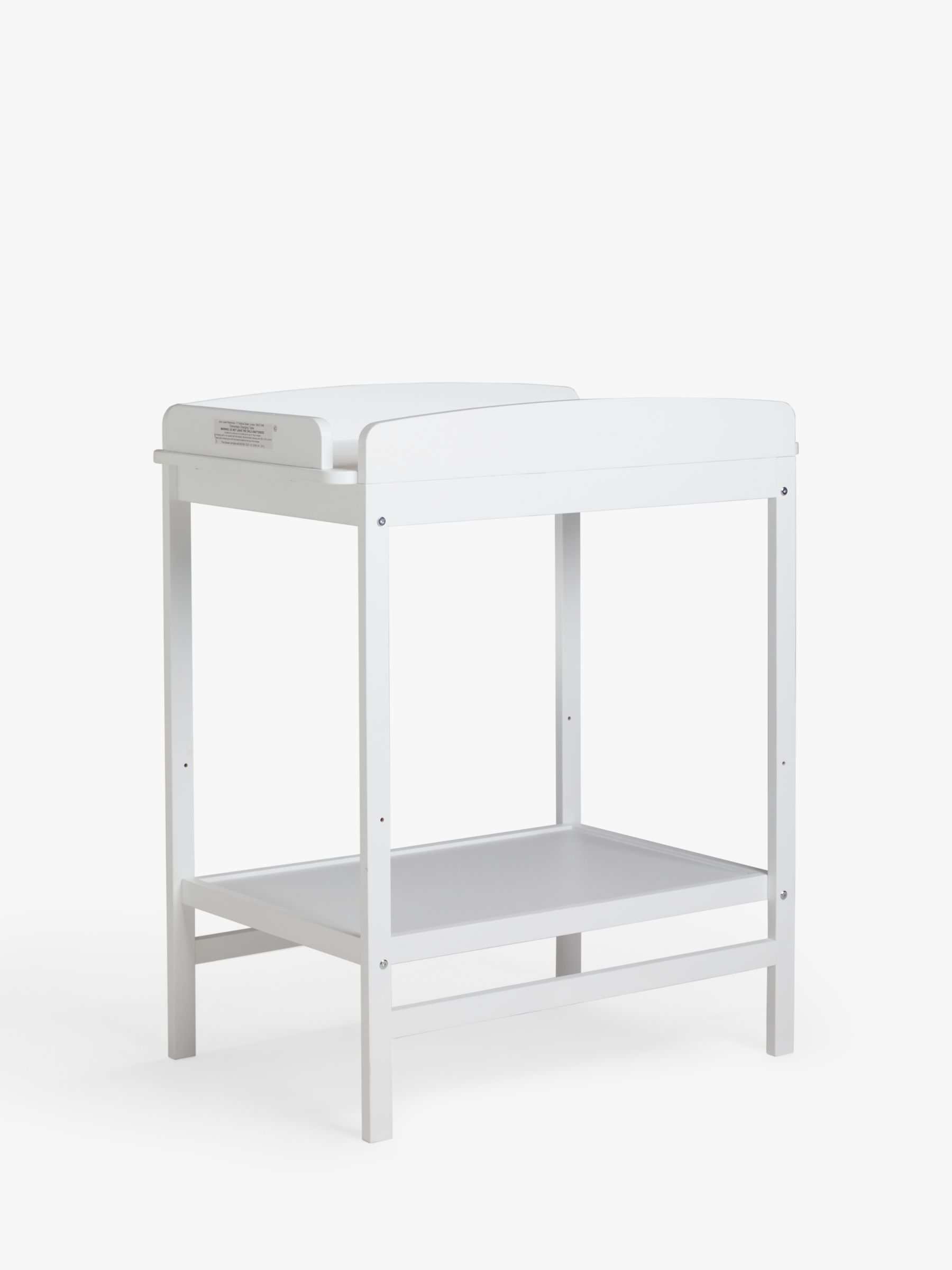 ANYDAY John Lewis & Partners Elementary Changing Table, White