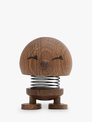 Hoptimist Bimble Desk Ornament, Small, Smoked Oak