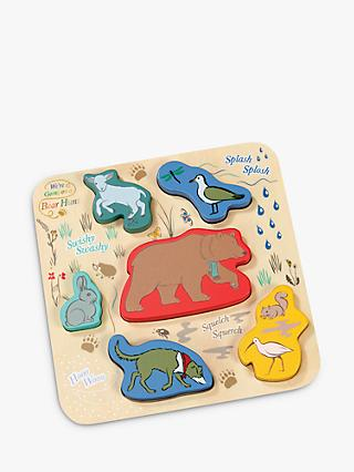 We're Going On A Bear Hunt Wooden Shape Puzzle, 6 pieces