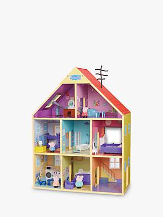 Peppa Pig Wooden Doll House