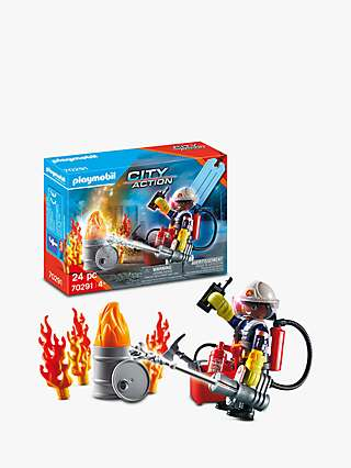 Playmobil City Action 70291 Fire Rescue Gift Set