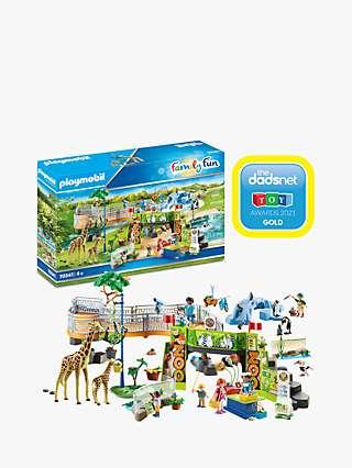 Playmobil Family Fun 70341 Large Zoo