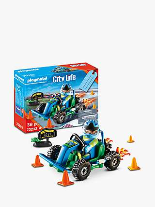 Playmobil City Life 70292 Go Kart Gift Set