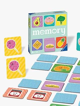 Funny Food Large Card Memory Game