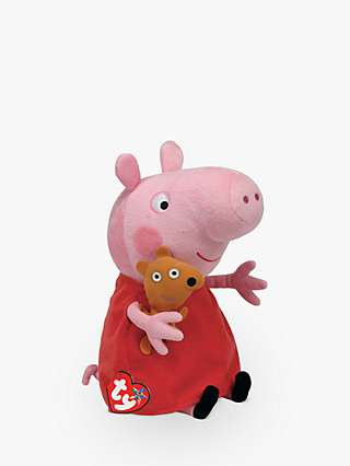 Ty Peppa Pig Buddies Plush Soft Toy