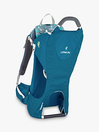 LittleLife Ranger S2 Child Back Carrier, Blue