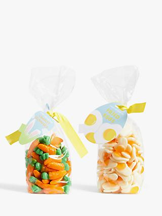 Carrot Gummies and Fried Egg Gummies, 2x 200g