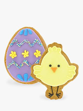 Original Biscuit Bakers Chick & Easter Egg Gingerbread Biscuit, 55g & 75g