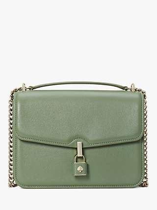 kate spade new york Locket Leather Shoulder Bag, Romaine