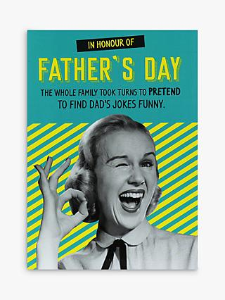 Paperlink Dad's Jokes Father's Day Card