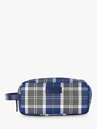 Barbour Tartan Wash Bag, Multi