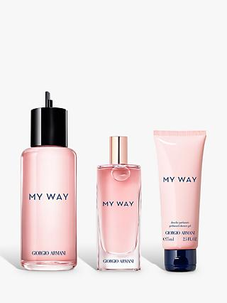 Giorgio Armani My Way Eau de Parfum Refillable 150ml Bundle with Gift